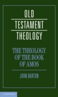 Theology of the Book of Amos - Barton