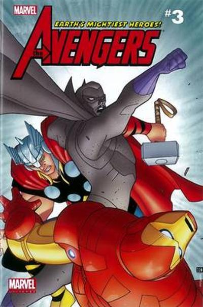 Marvel Universe Avengers Earth's Mightiest Comic Reader 3 - Christopher Yost