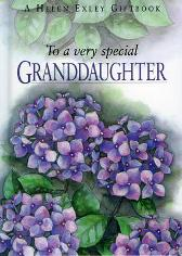 To a Very Special Granddaughter - Pam Brown Pam Brown Helen Exley