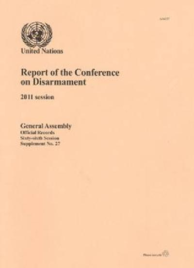 Report of the Conference on Disarmament -