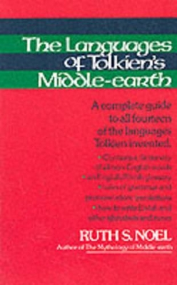 Language of Tolkien's Middle Earth - Ruth S. Noel