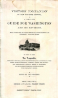 Complete Guide for Washington and Its Environs - George G. Evans
