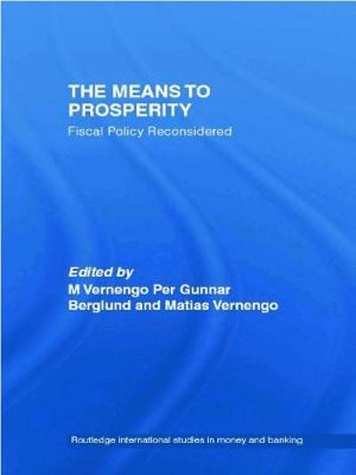 The Means to Prosperity - Per Gunnar Berglund