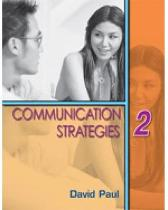 Communication Strategies 2 - David Paul