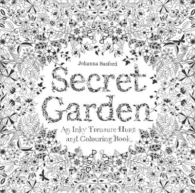 Secret garden. An inky treasure hunt and colouring book - Johanna Basford