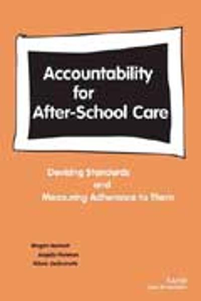 Accountability for After-school Care - Megan Beckett