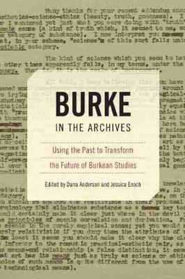 Burke in the Archives - Dana Anderson