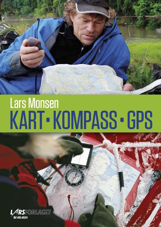 hvordan bruke kart og kompass Kart, kompass, GPS   Lars Monsen   Innbundet (9788292708385  hvordan bruke kart og kompass