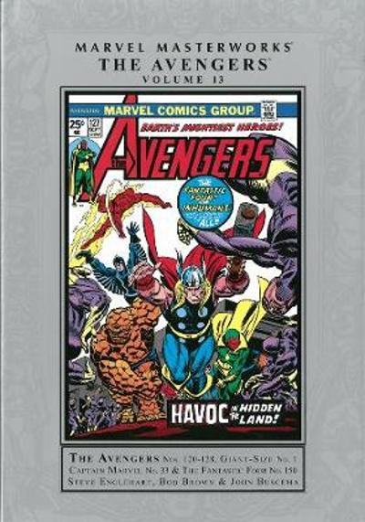 Marvel Masterworks: The Avengers - Volume 13 - Gerry Conway