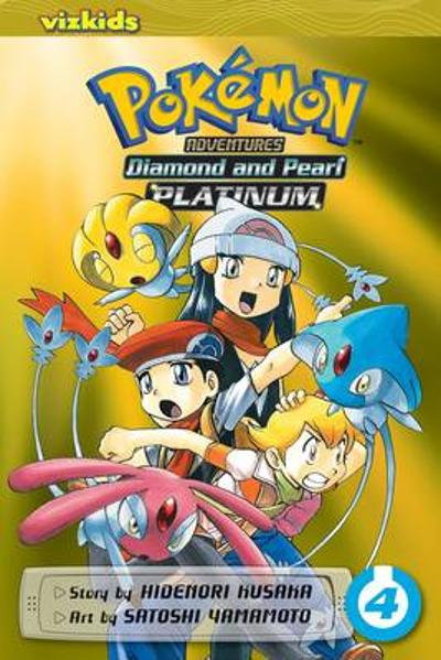 Pokemon Adventures: Diamond and Pearl/Platinum, Vol. 4 - Hidenori Kusaka