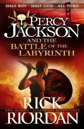 Percy Jackson and the Battle of the Labyrinth (Book 4) - Rick Riordan