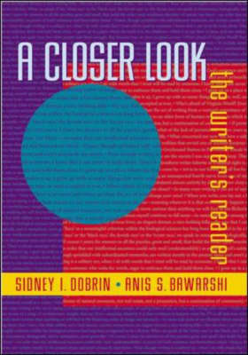 A Closer Look - Sidney I. Dobrin