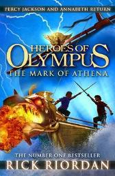 The mark of Athena - Rick Riordan