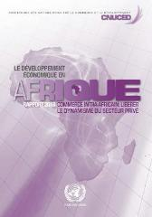 Le developpement economique en Afrique 2013 - United Nations Conference on Trade and Development