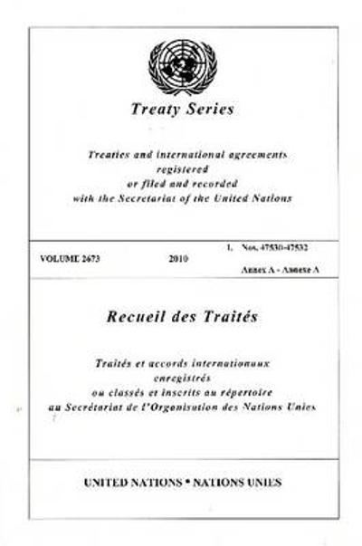 Treaty Series 2673 - United Nations