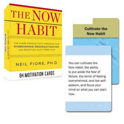 Now Habit Motivation Cards - Neil Fiore