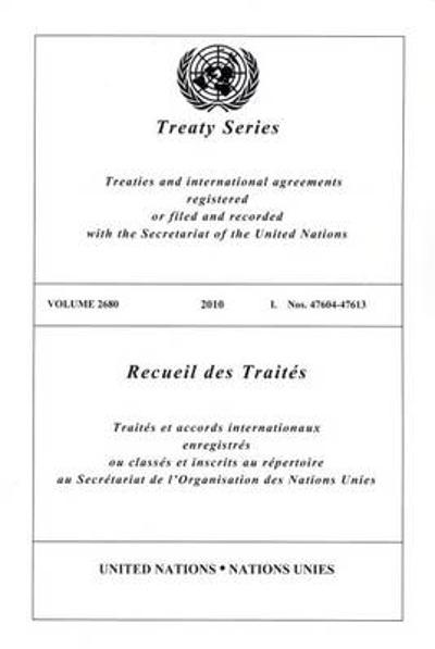 Treaty Series 2680 - United Nations