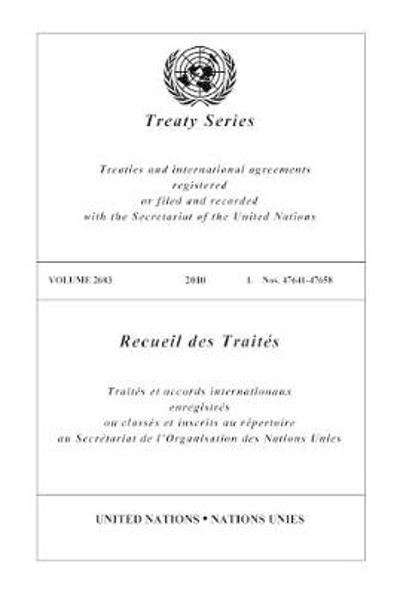 Treaty Series 2683 - United Nations