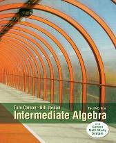 Intermediate Algebra - Tom Carson Bill Jordan
