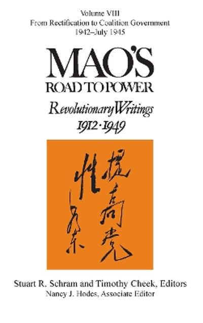 Mao's Road to Power - Stuart R. Schram