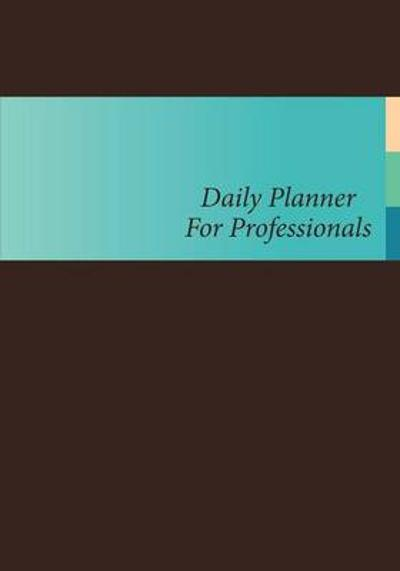 Daily Planner for Professionals - Lecturer in Law Colin Scott
