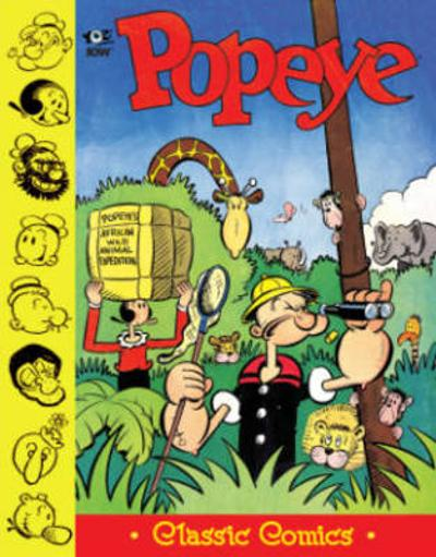 Popeye Classics King Blozo's Problem And More! - Bud Sagendorf