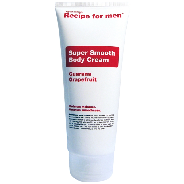 Super Smooth Body Cream - Recipe for Men
