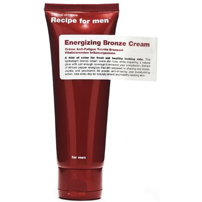 Recipe For Men Enerigizing Bronze Cream - Recipe for Men