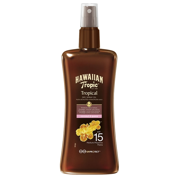 Protective Dry Spray Oil Spf 15 - Hawaiian Tropic
