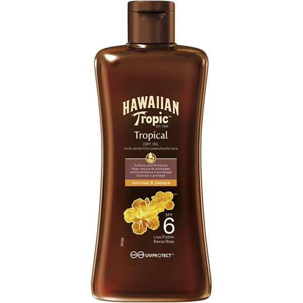 Protective Dry Oil Spf 6 - Hawaiian Tropic