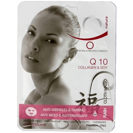 Tissue Mask Q10+Collagen+Soy - Iroha Nature