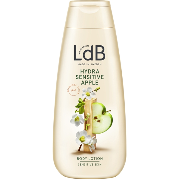 LdB Lotion Hydra Sensitive, Apple & Aloe Vera - LdB
