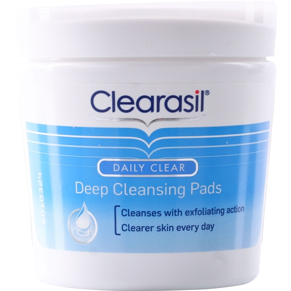 Clearasil Daily Clear - Deep Cleansing Pads - Clearasil