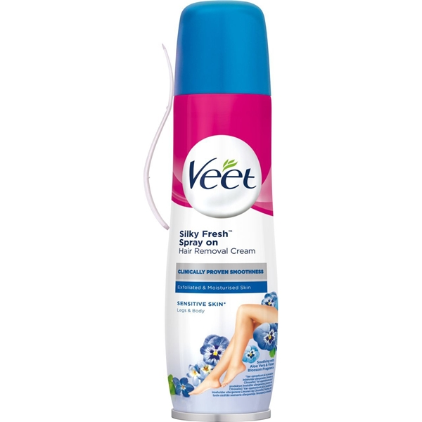 Veet Spray On Hair Removal Cream - Normal Skin - Veet