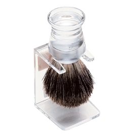 Shaving Brush Stand Clear - Vadeco